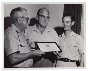 Orlando AFB? US Air Force 20 years service Joseph Johnson old Photo 1963