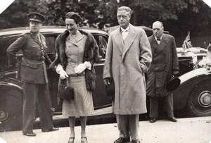 France Paris Duke Duchess of Windsor Boulevard Suchet old Press Photo 1945