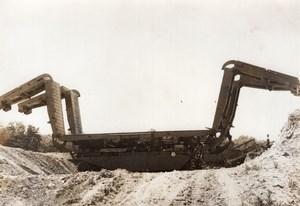 Kent Upnor Centurion Tank Folding Bridge Ark Unfolding old Press Photo 1963