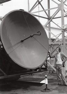 Journalist Laurent Broomhead Magny les Hameaux Meteorology old Press Photo 1980