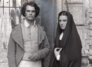 Actors Anne Canovas Jean Boissery TV film Colomba old Press Photo 1982
