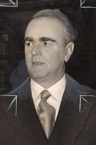 Konstantinos Karamanlis Caramanlis Greek politics old Press Photo 1970