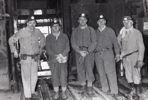 Lorraine Creutzwald La Houve Coal Mine Argentine Military Visit old Photo 1959