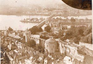 Amboise Touring de France Aerial View old Photo 1930's