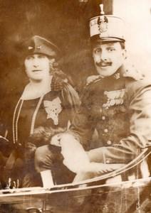 Spanish King Alphonse XIII & Victoire-Eugénie de Battenberg Meurisse Photo 1931