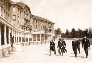 Bussières Séricourt sanatorium Chemins de fer de l'Est old Meurisse Photo 1931