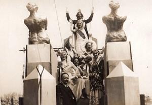 Paris Beauty Queen Parade Reine des Reines old Meurisse Photo 1930's
