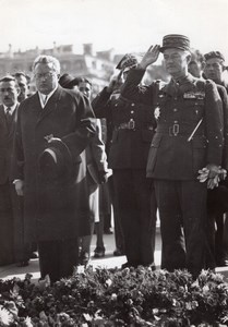 Paris Unknown Soldier General Legentilhomme Stanislaw Skrzeszewski Photo 1945