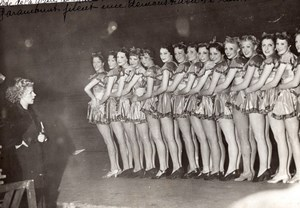 Paris Palais des Sports Blues Belles Girls du Paramount Old Meurisse Photo 1930s