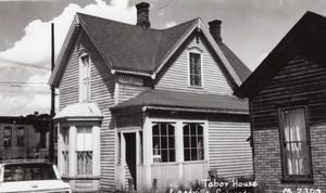 Colorado Leadville Tabor House old RPPC Photo 1960 ?