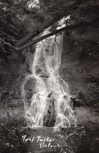 Nebraska Valentine Fort Falls Waterfall old RPPC Photo 1940