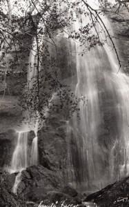 Nebraska Smith Falls Waterfall old RPPC Photo EKC 1940's
