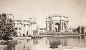 San Francisco Palace of Fine Arts Architecture old RPPC Photo 1940