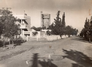 Morocco Marrakech Menara Gardens Water Tower old Photo 1940's