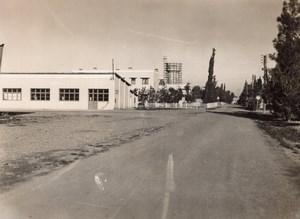 Morocco Marrakech Menara Airport near Air Atlas Bar old Photo 1940's