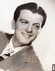 American Actor Singer Larry Douglas Here's to Romance old CBS Photo 1944