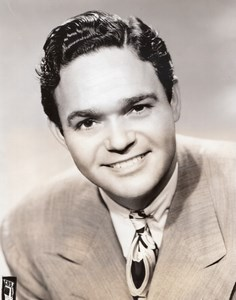 American Singer Tenor James Melton Star Theater old CBS Photo 1944