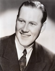 Saxophonist Conductor Arranger Johnny Warrington old CBS Photo 1944