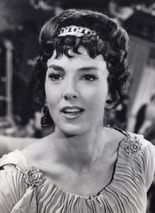 Actress Anne Wakefield Artemisa Lion of Sparta old Photo 1961