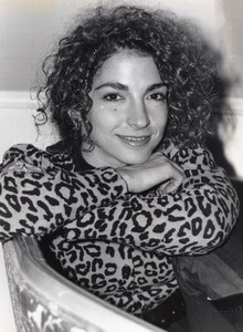 Singer Pop Star Gloria Estefan Portrait old Photo 1989