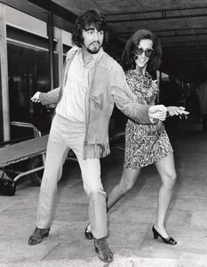 Singer PJ Proby & Choreographer Shirley Langford old Photo 1969