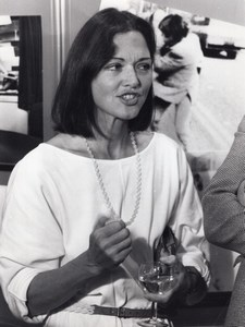 Presentatrice de Television Journaliste Anna Ford Ancienne Photo 1983