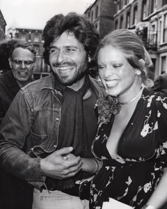 Actress Edina Ronay & Photographer Dick Polak Newlyweds old Photo 1971