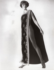 USA 1960's Women Fashion Belle-Sharmeer Bodice Stocking Nylon old Photo