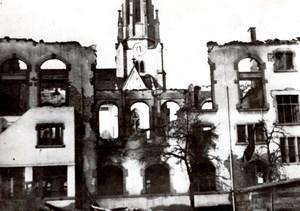 Switzerland American Bombardment of Schaffhausen WWII old Press Photo 1944
