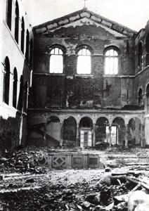 Germany Trier Treves Basilica Ruins WWII old Press Photo 1944