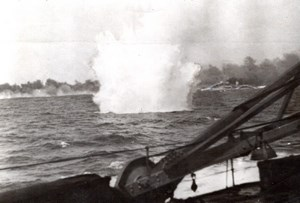 Greece WWII Battle of Cape Matapan British Warship old Photo 1941