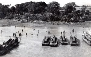 WWII Burma Campaign Sittwe Capture of Akyab old Photo 1945