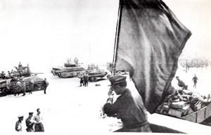 WWII Belarus Minsk taken back from Germans by Russian Army old Photo 1944