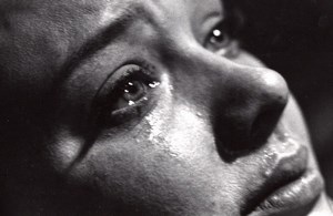 TV Movie War and Peace Teary Woman Close up old Photo 1980's