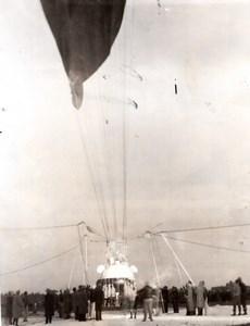 Detroit Jean Piccard Stratosphere Flight Hydrogen Balloon Aviation Photo 1934