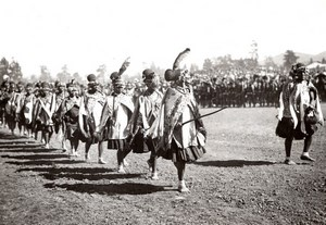 South Africa Pietermaritzburg Prince of Wales Visit Native Women old Photo 1920s