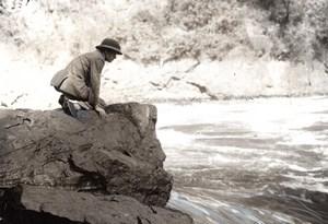 Zambia Zimbabwe Prince of Wales Visit Victoria Falls old Press Photo 1925
