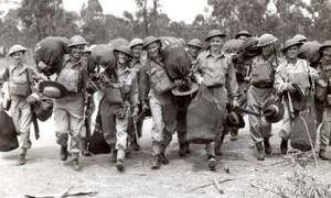 Papua New Guinea? Australian Troops RAAF old Press Photo 1943
