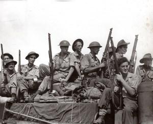 Philippines WWII Mindoro Island Australian Troops RAAF old Press Photo 1944