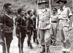 Aitape Lord Wakehurst Royal Papua New Guinea Constabulary old Press Photo 1945