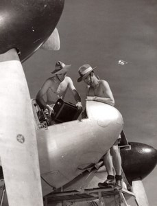 Australia RAAF Parachute Riggers Packers Aviation old Photo 1960