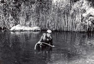 Australia near Avalon NSW? Underwater Gold Mining Diving old Photo 1960's