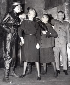 London Theatre Mary Ure Zoe Caldwell George Rose Trials by Logue old Photo 1960