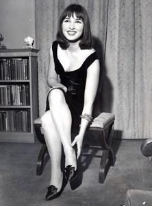 London Starlet Talitha Getty Pol Portrait old Press Photo 1964