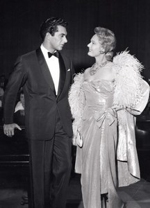 Cinema Frankie Vaughan & Anna Neagle The Lady Is a Square Ancienne Photo 1958