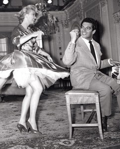 Cinema Frankie Vaughan & Janette Scott The Lady Is a Square Ancienne Photo 1958