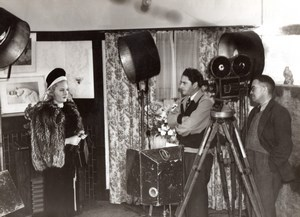 Miss Australia 1946 Rhondda Kelly et Cameraman Ancienne Photo