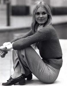 British Actress Victoria Tennant The Ragman's Daughter old Photo 1972