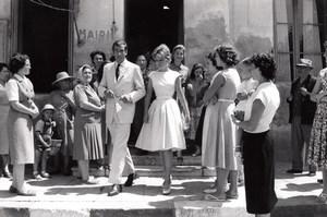 La Londe-les-Maures Roger Vadim Annette Stroyberg Wedding old Photo 1958