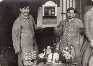 Travaux des Mutiles Massacre de la Kultur WWI Ancienne Photo 1914-1918